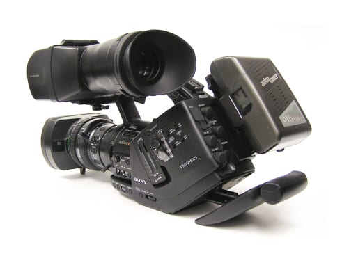 sony ex3 hd camera